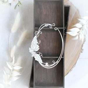 first holy communion oval frame decorative laser cut chipboard