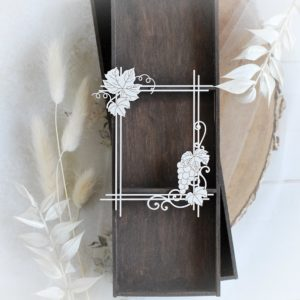 bloomar designs first holy communion frame decorative laser cut chipboard
