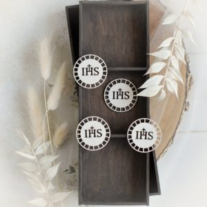 first holy communion set of four host laser cut chipboard elements