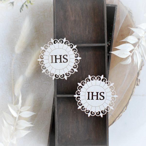 first holy communion host set decorative laser cut chipboard elements