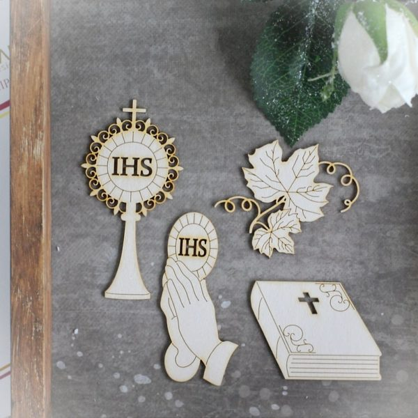First Holy Communion chipboards set