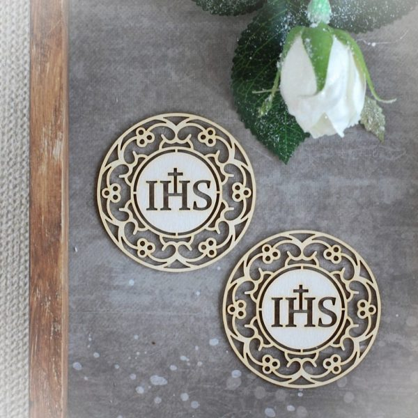 Holy Communion chipboard host set 20