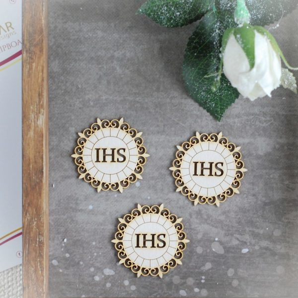 Holy Comunion chipboard Host set