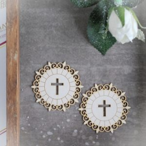 Holy Communion large Host chipboard