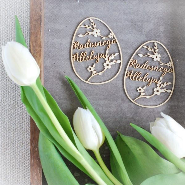 Easter chipboard eggs set