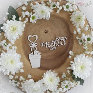 mothers day collection happy mothers day set decorative laser cut chipboards