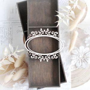 bloomar decorative laser cut chipboard frame elements