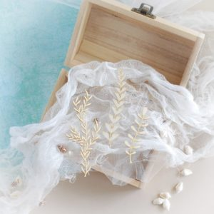 set of three decorative laser cut chipboard seaweeds