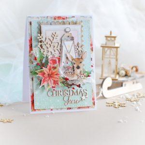 Christmas Time handmade card