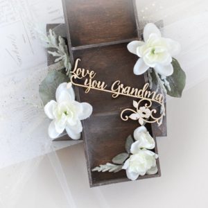 love you grandma grandpaterns day decorative laser cut chipboard