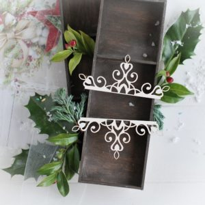 christmas collection medium ornaments decorative laser cut chipboards