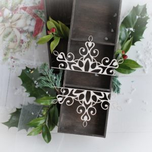 christmas collection large ornaments decorative laser cut chipboards